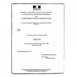 Leistungsnachweis FR Französisch