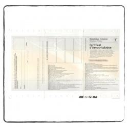 Zulassungsbescheinigung Französisch carte grise